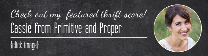 Guest Hosting Thrift Score Thursday #113