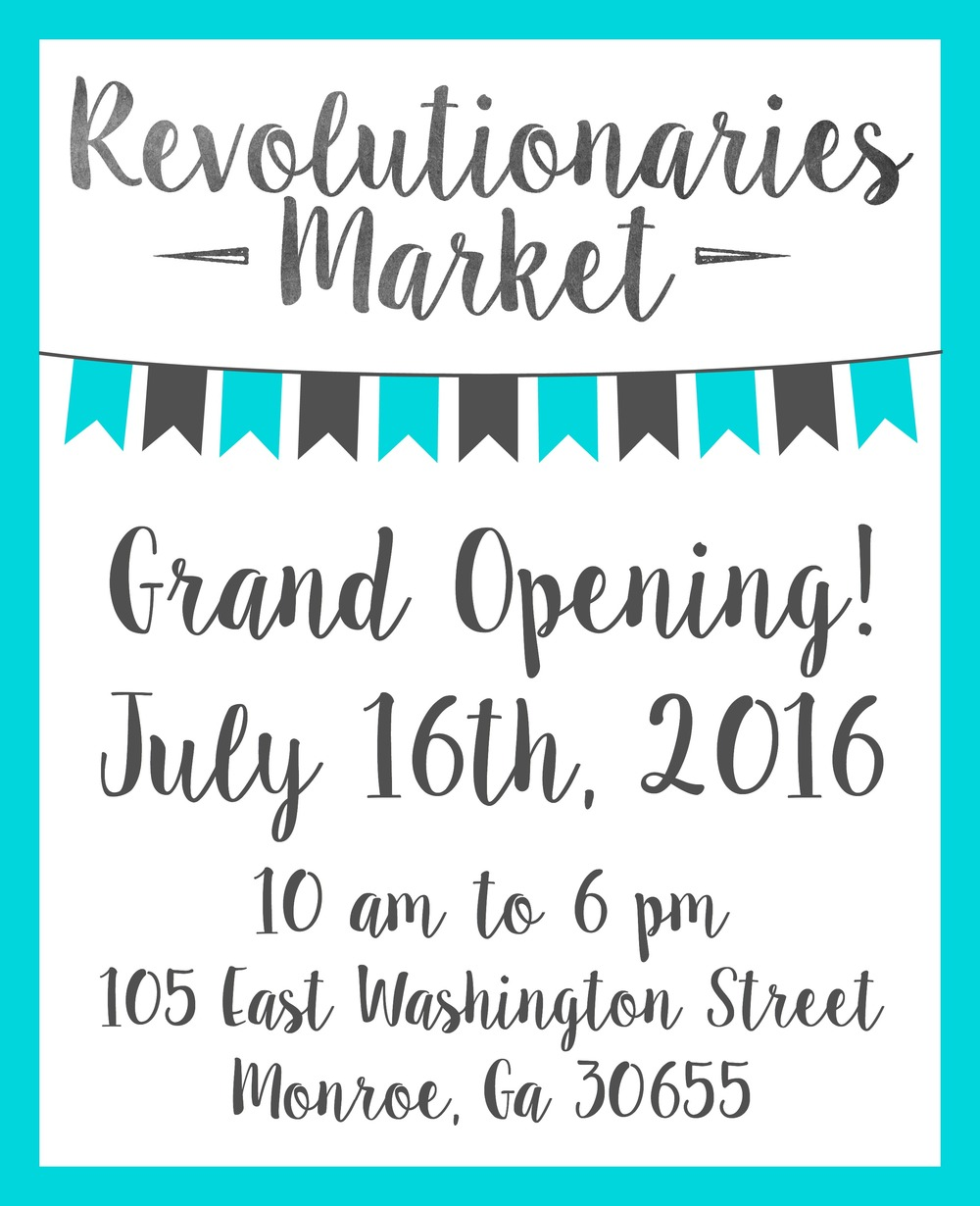 Revolutionaries Market Renovation: Update #3 and Our Grand Opening!