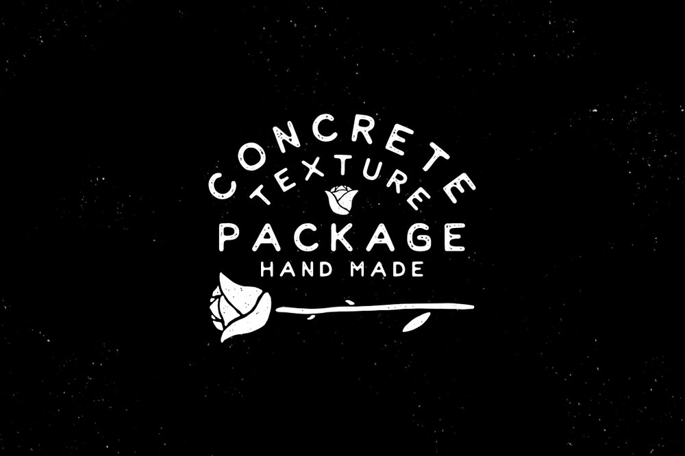 Free Concrete Texture Brush Pack