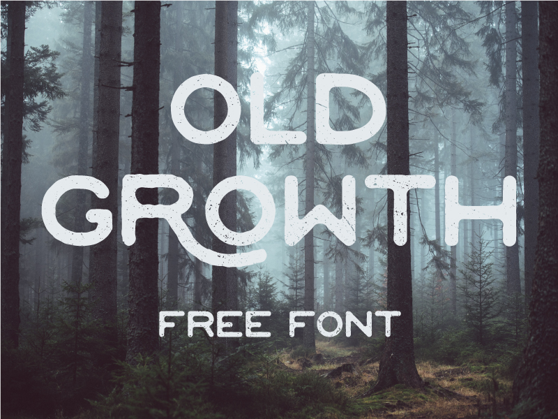 tipografía Old Growth para logos modernos