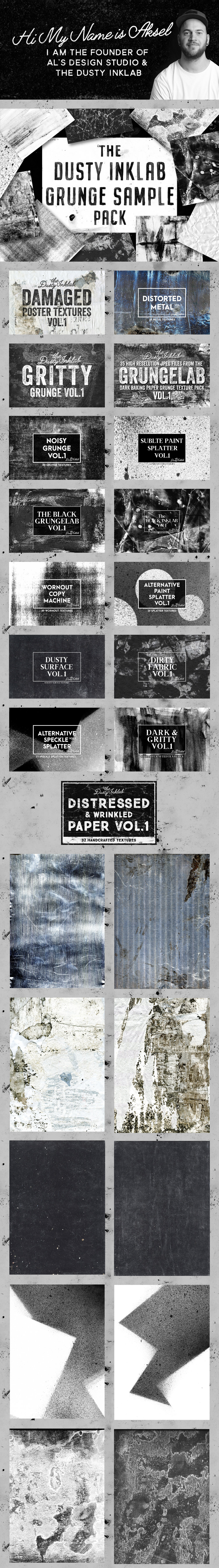 The Dusty Inklab Grunge Sample Pack 1.jpg