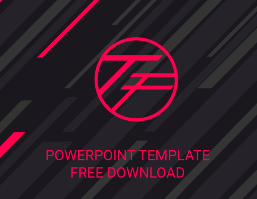 the first free powerpoint template pixel surplus resources for