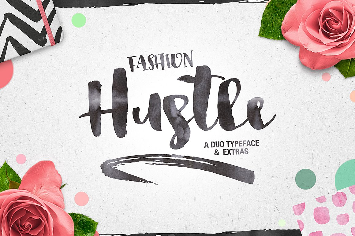 Fashion Hustle + Extras — Pixel Surplus | Resources For Designers