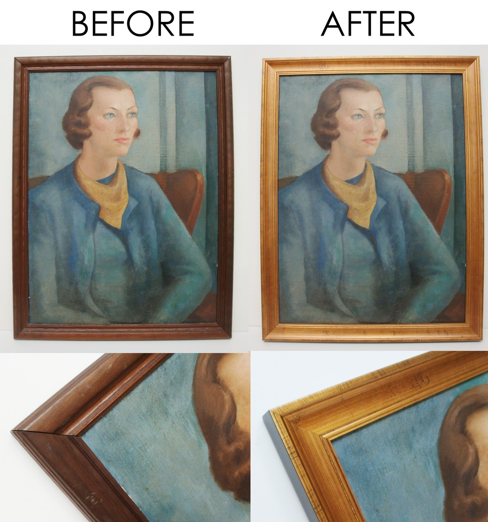 Before and after - woman oil painting.JPG