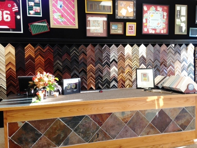 Malibu Gallery has hundreds of frames to choose from and a quick turn around for all your projects.