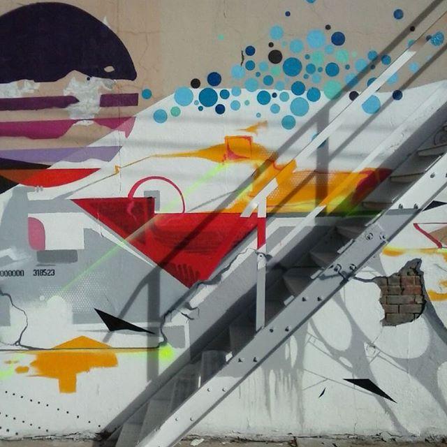 Mural on #PuebloARTery