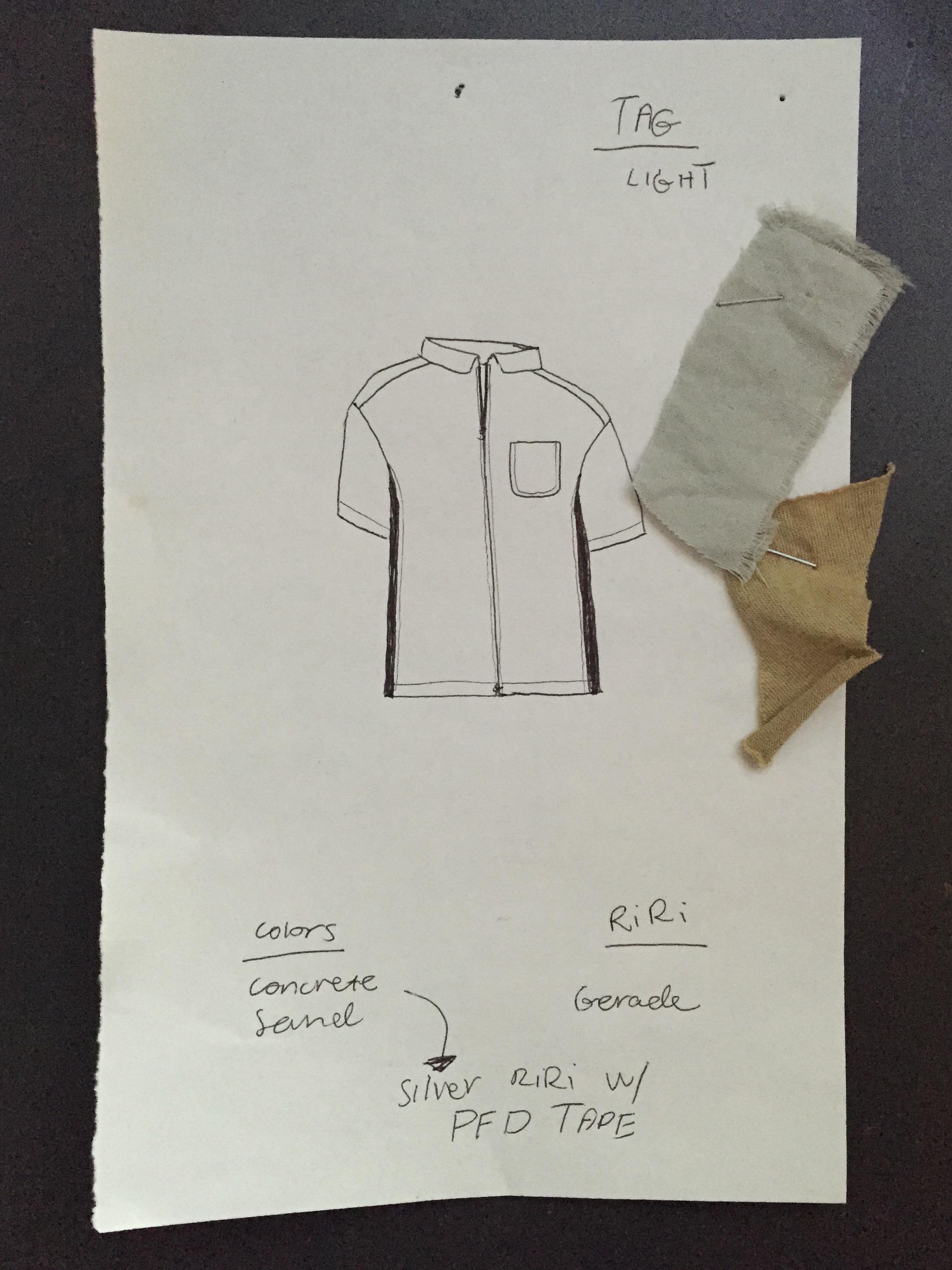 The original sketch.