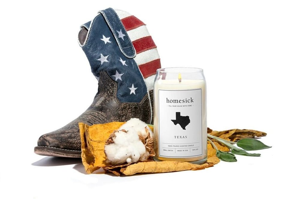 The Texas Homesick Candle.