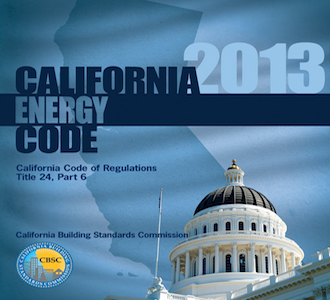 2013 California Building Energy Efficiency Standards