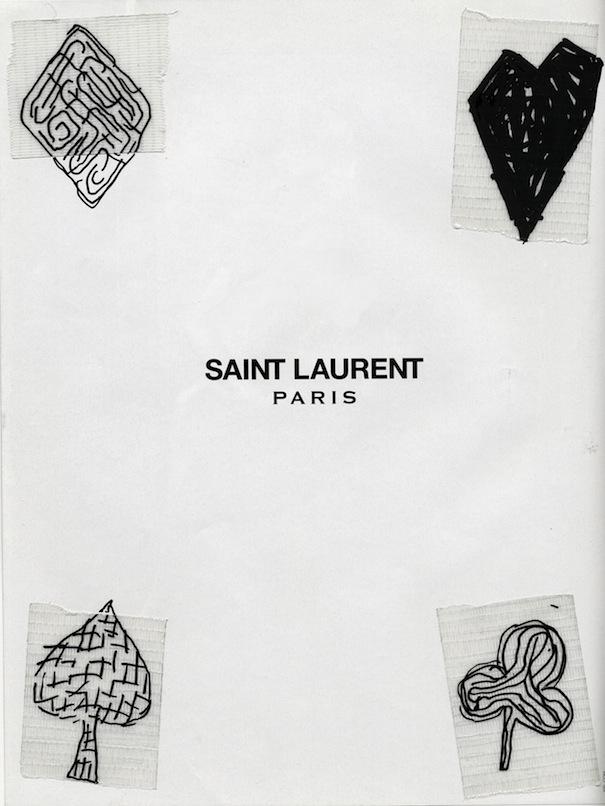 - Ace Laurent Marker+Tape+Magazine Photo