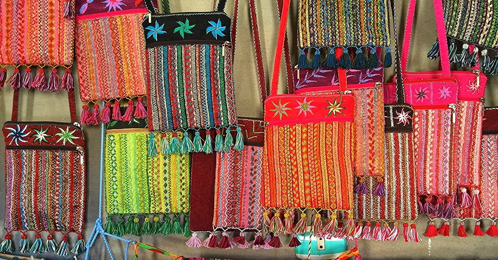 Bedouin hand stitched and beaded bags