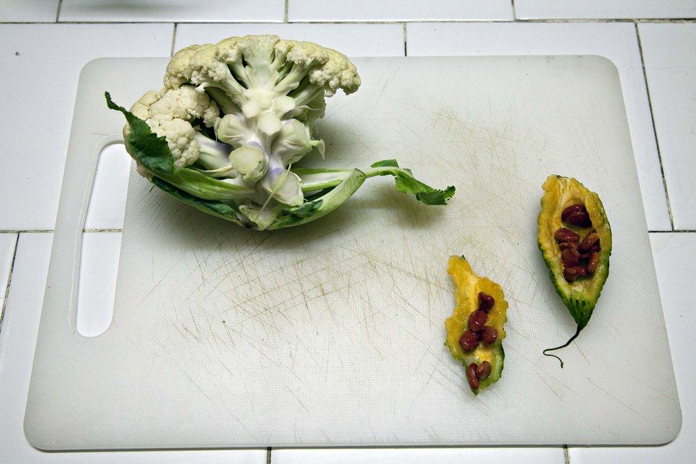 Cauliflower and Margoz