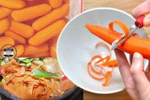 VeggiDome Carrot Peels