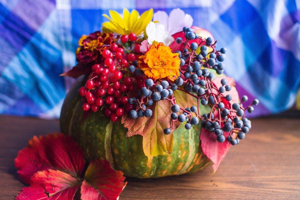 Maximum Living Pumpkin And Gourd Vases And Arrangements Maximum