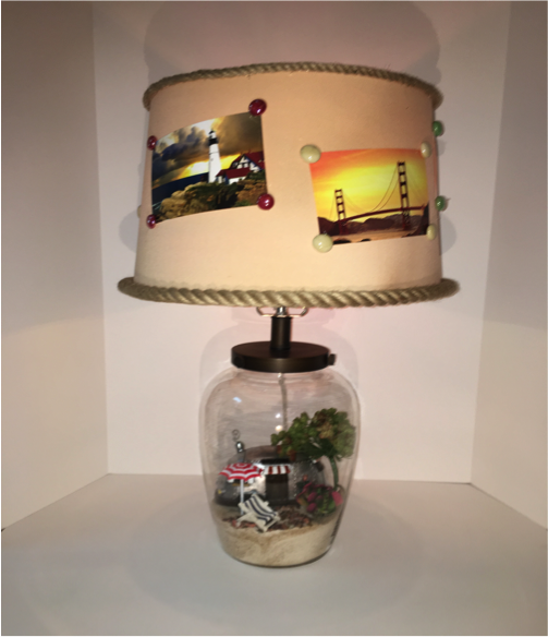 what better way to preserve a memory than with a maximum living memory lamp these fillable jar lamps now make it possible to keep those memories alive