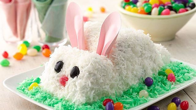 What's better than celebrating Easter morning with a Maximum Living Easter Bunny Box cake? It's easy to make, and kids will love waking up to this Easter Bunny! For some more family fun, kids can help make and decorate it.