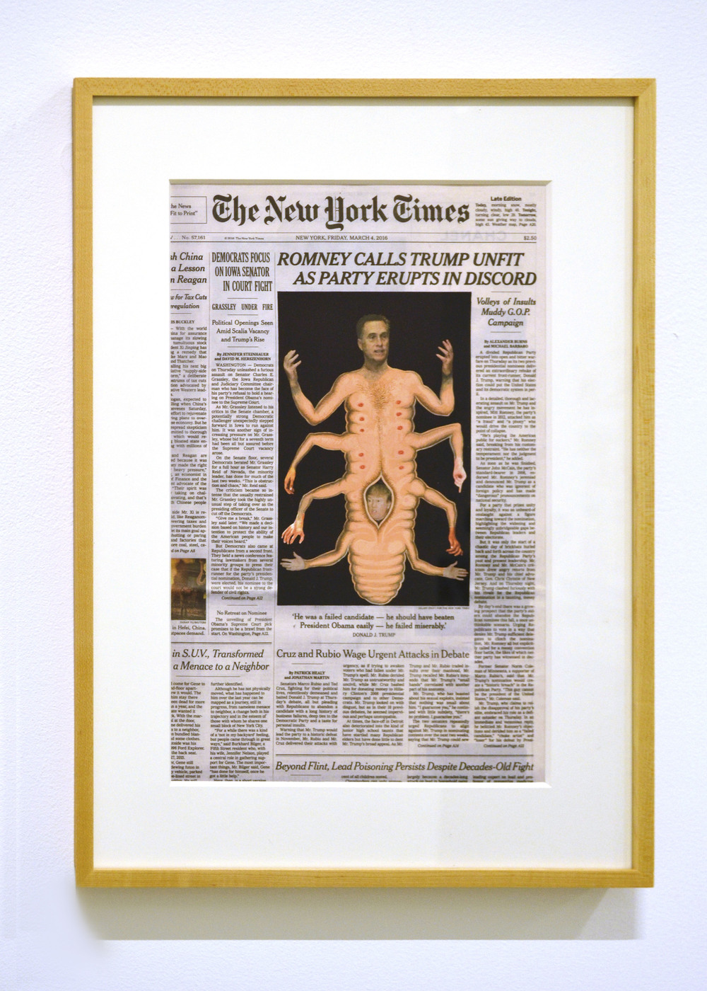 Fred Tomaselli  March 4,  2016