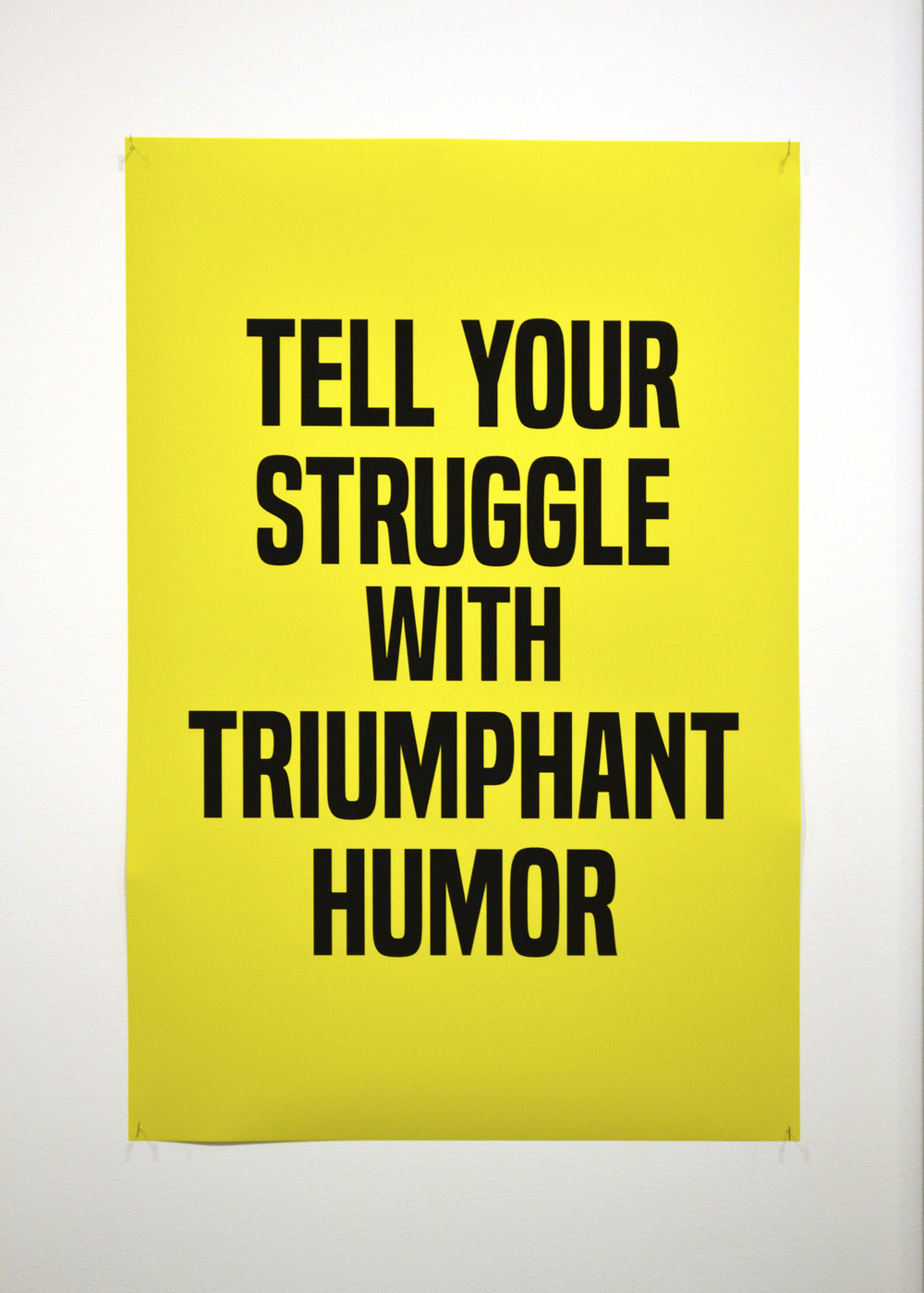 Kameelah Janan Rasheed  Tell Your Struggle with Triumphant Humor,  2014