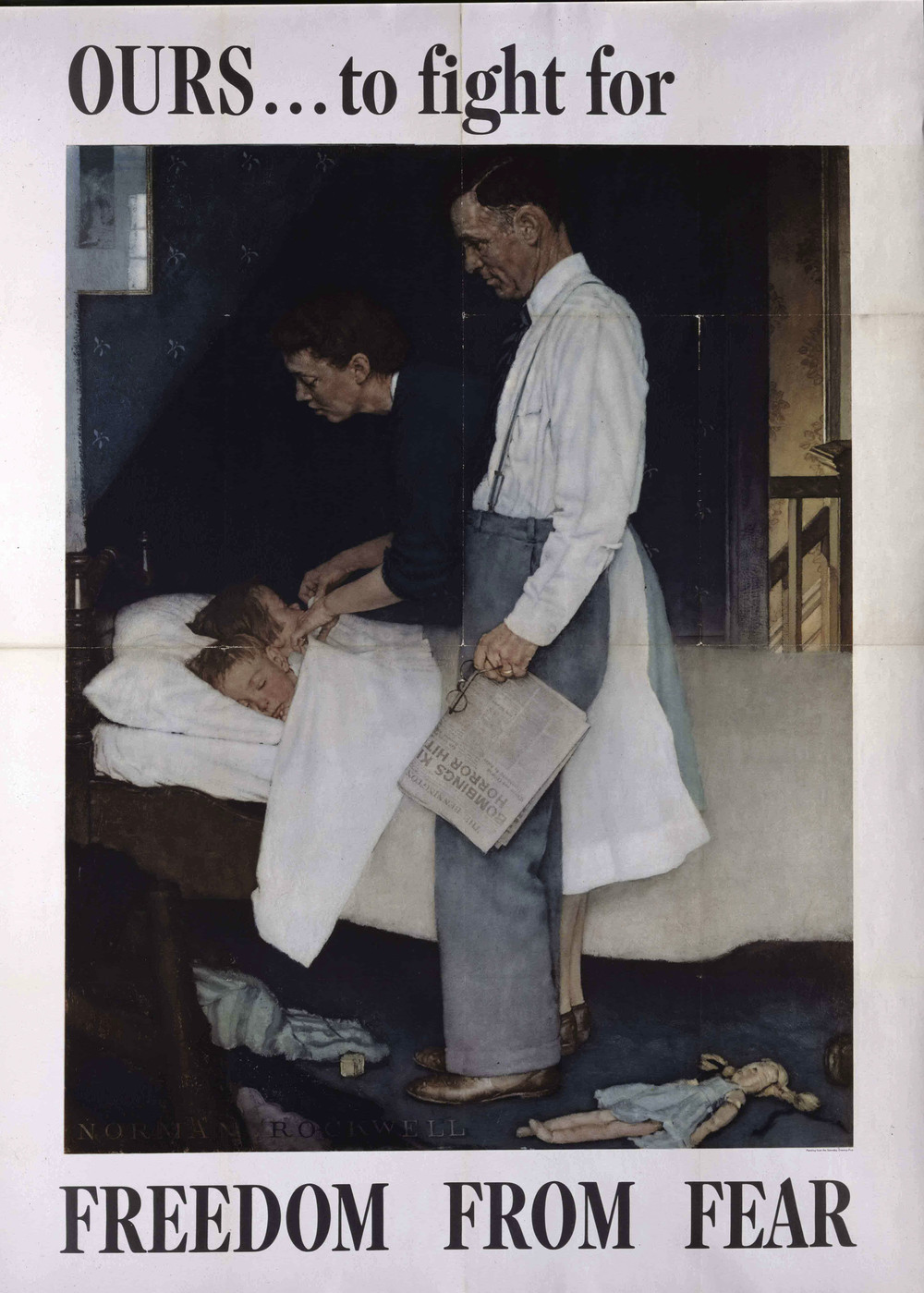 Norman Rockwell  Freedom from Fear, 1943