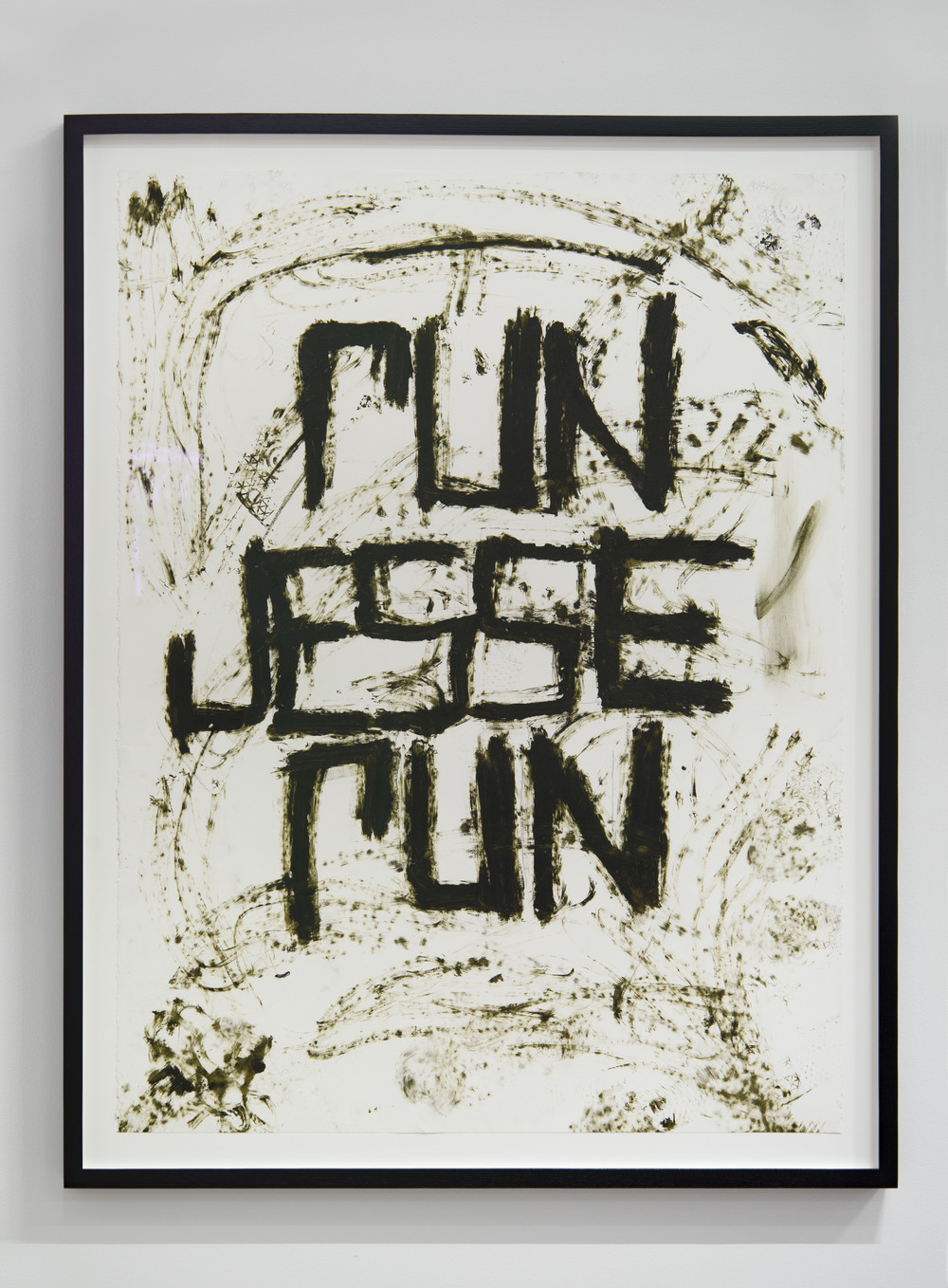 Rashid Johnson  Run Jesse Run,  2016