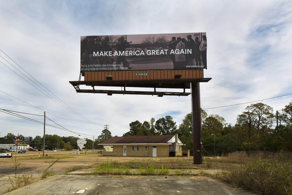 Make America Great Again  with Spider Martin - Pearl, Mississippi