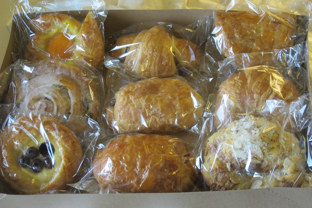 Packaged Danishes