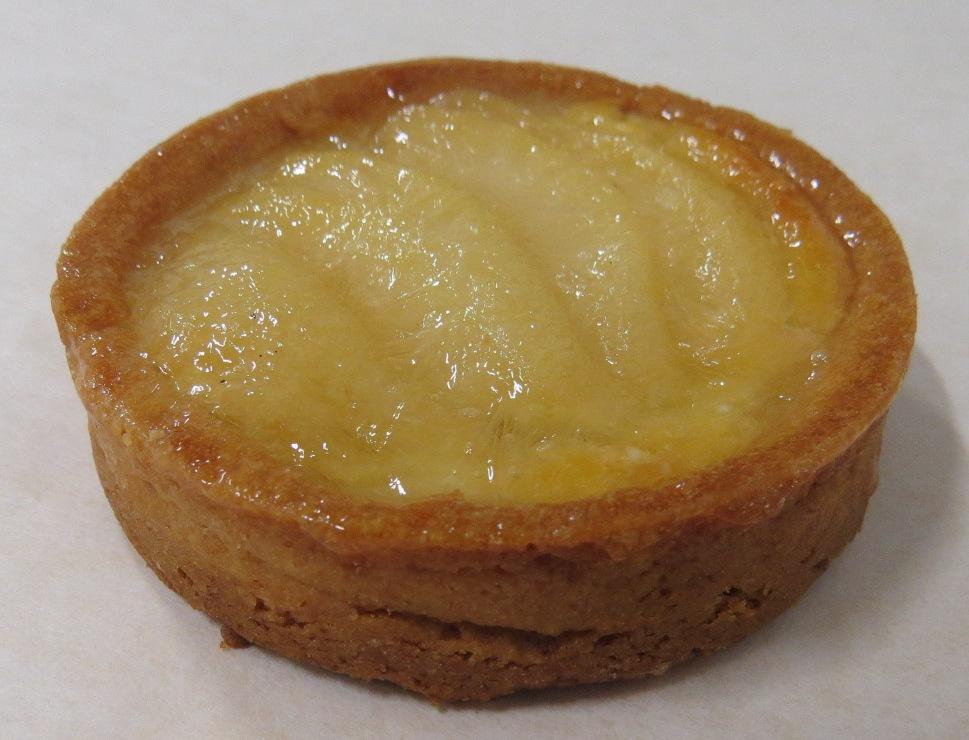 Almond Pear Tartlet