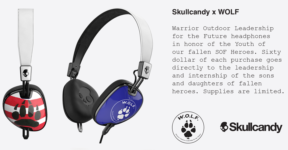 During the Summer of 2015, through SOFWOLF one of our students was able to work as a summer intern for Skullcandy based out of Park City, UT. She was able to learn about multiple levels of the business and had experience in several of the different departments. She was able to coordinate an opportunity in which the SOFWOLF Class of 2015 could come to the Skullcandy HQ and work with Skullcandy staff for a day. The SOFWOLF students were able to design a brand new product, and develop the marketing strategy of that product. The result of their work are these awesome new headphones which can be purchased through the Skullcandy site. These are the Brand New Limited Edition Skullcandy WOLF Navigator Headphones, designed by SOFWOLF students. Please show your support for our students and grab yourself a pair of these incredible headphones!