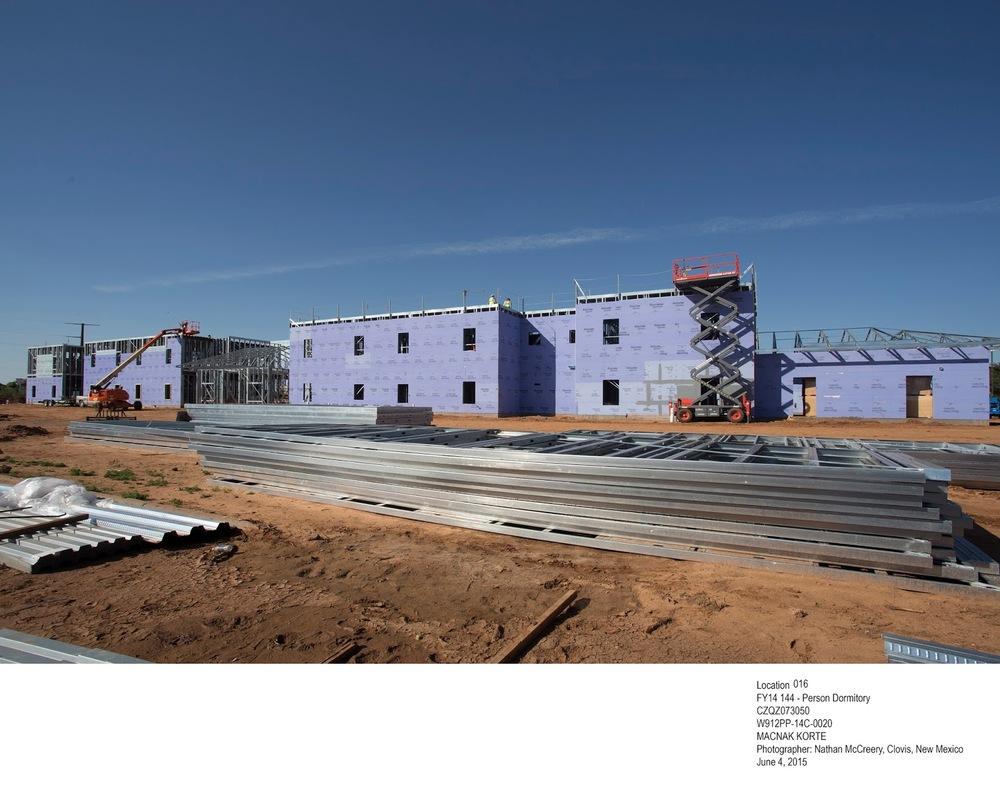 Nellis AFB 240 Person Dormitory