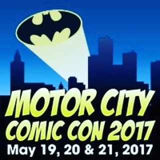 Tune in this Saturday, May 20th when we go LIVE at @motorcitycomiccon