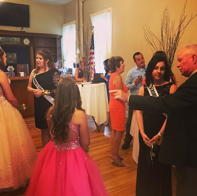 Such an enchanting evening at the Peach Queen Ball