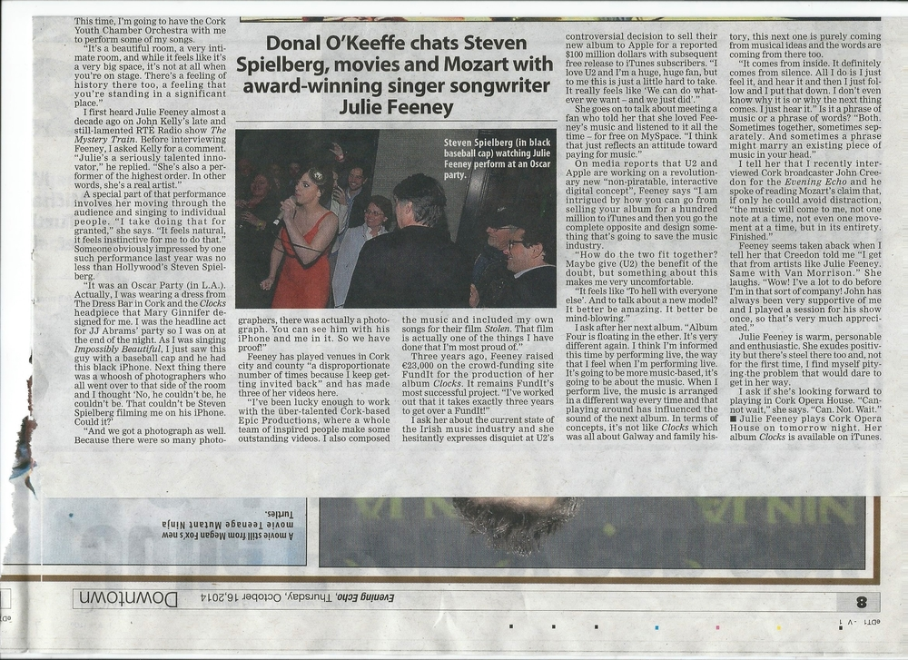 Donal O' Keffe article -  Evening Echo (MINI FEATURE).jpg