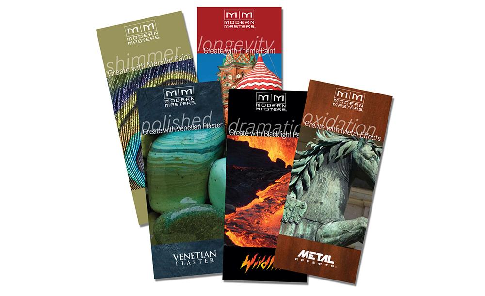 Modern Masters   Brochures