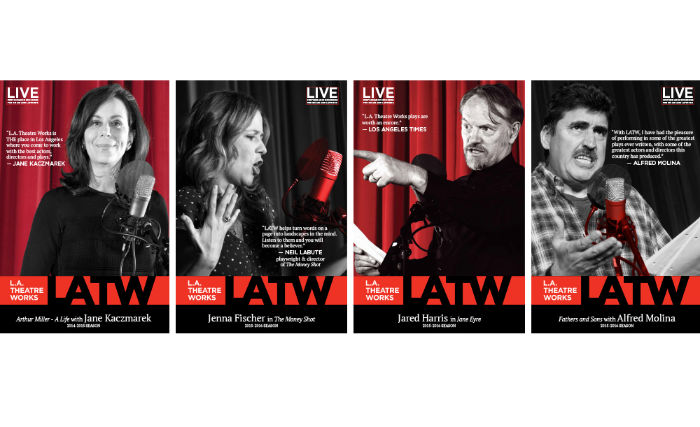 LA Theatre Works   Posters