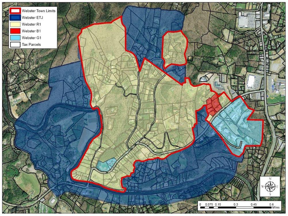 Webster Maps — Historic Webster, NC
