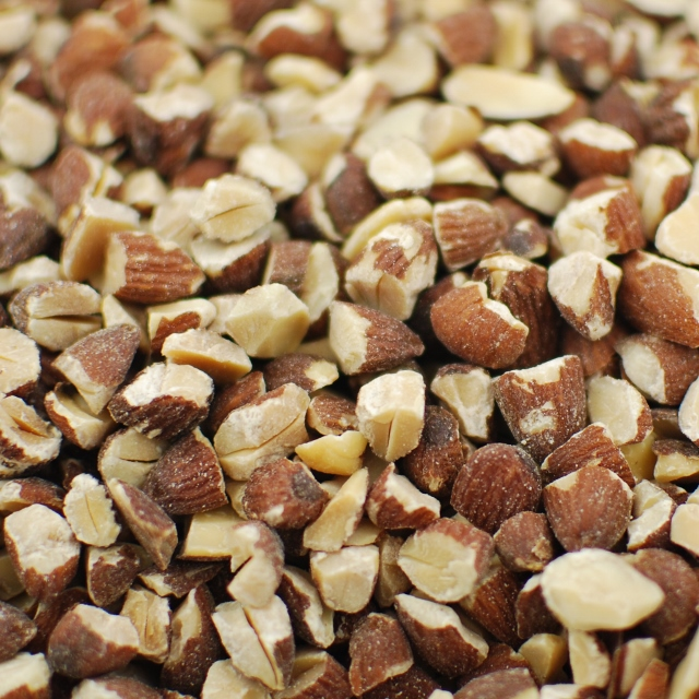 Raw Large Diced Almonds