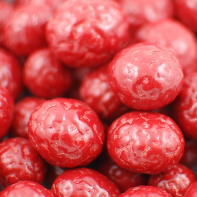 Chocolate-Covered Raspberries