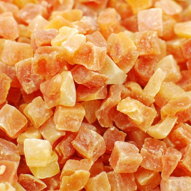 Diced Papaya - Low Sugar - No Sulfur