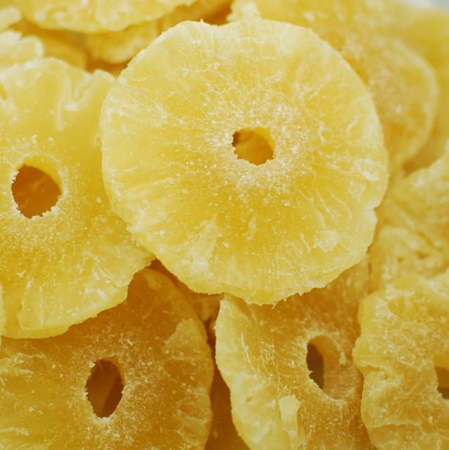 Pineapple Rings - Low Sugar - No Sulfur