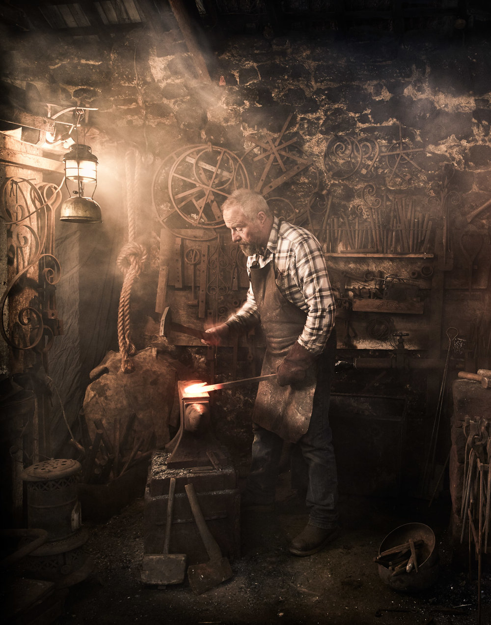 THE BLACKSMITH -