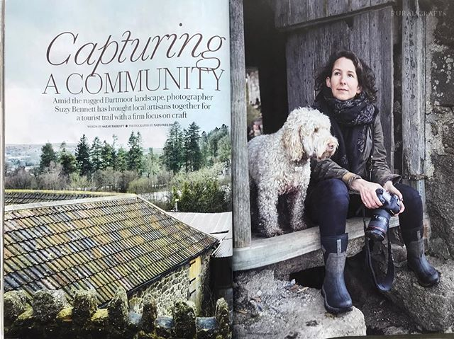 Super feature in this month's Country Living magazine about the story behind my Dartmoor Artisan project (Feb edition). Thank you @countrylivinguk @natowelton @sarahbarrattuk.  Includes @devonguildcrafts @wooden_way @greg.abel01 @jane.deane @gillett.mary. Find out more @dartmoor.artisan.trail. Looking forward to next year's project with @danielcarpenter_ .