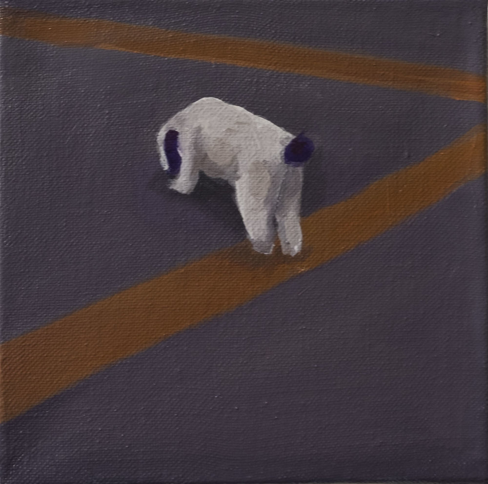 20 x 20 cm  oil on canvas