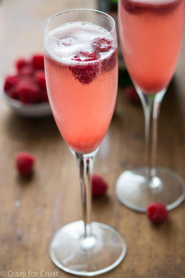 Champagne Bellini