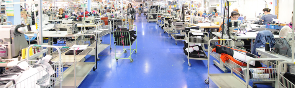 WE ADD VALUE FOR GARMENT AND FURNITURE BRANDS  What would you expect from your production partner?   We add value