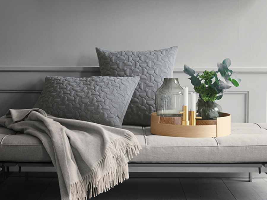 New accessory line from Fritz Hansen   LTP has been selected to make the pillows and cushion in the new accessory line, Objects, from Fritz Hansen       CUSTOMER EXPERIENCE