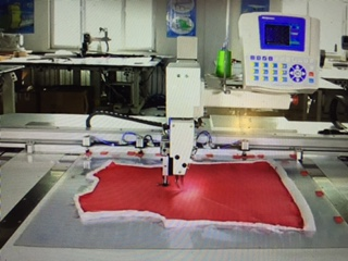 Youtube video from computerized embroidery quilting machine  Click here