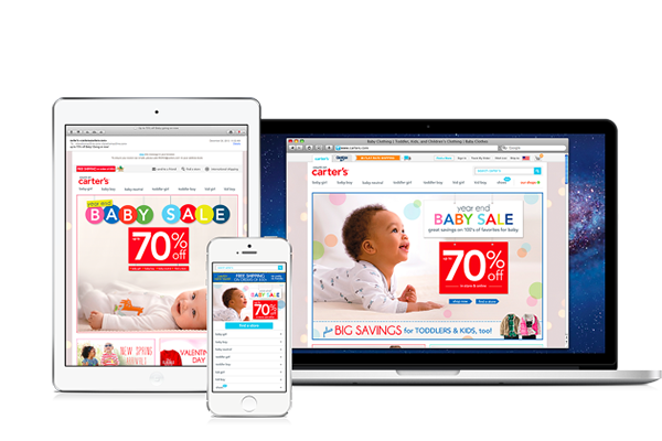 Carters Baby Sale Responsive Campaign