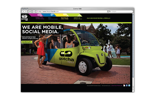 The Gotcha Group full branding and website