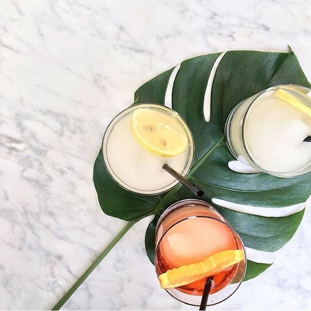 It's 5 O'Clock somewhere... // 📷: @thekataloguer // #Cocktails #Summer #SummerCocktails #Tropics #Tropical #CocktailCulture #NYC #NYCLovesCocktails #Flavors #FlavorGuide #TropicalCocktails #Sweet