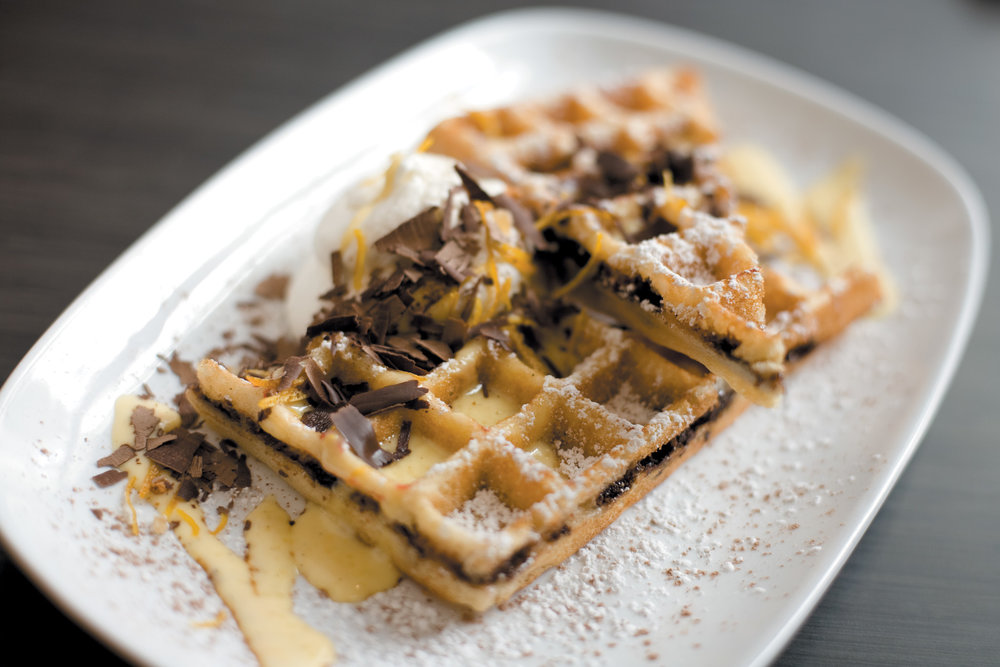 Yummm these waffles from Chicago Waffle are making us hungry!